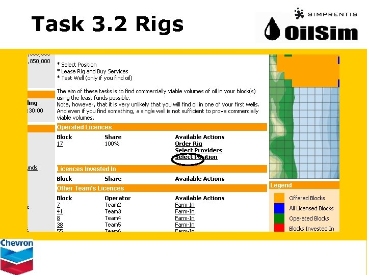 Task 3. 2 Rigs