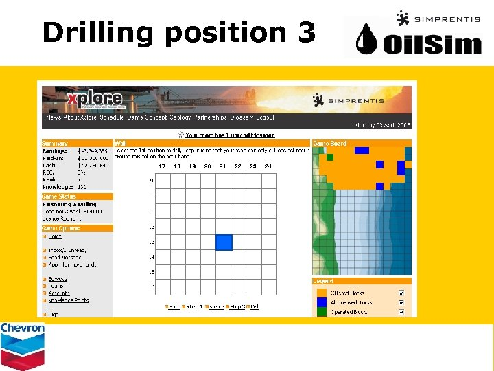 Drilling position 3