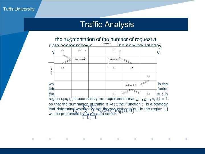 Tufts University Traffic Analysis the augmentation of the number of request a data center