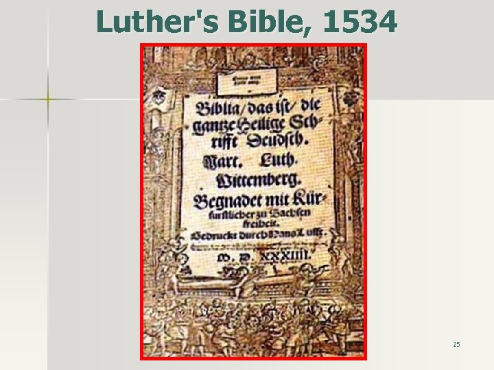 Luther's Bible, 1534 25
