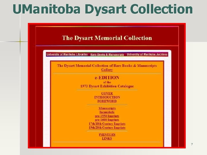 UManitoba Dysart Collection 7