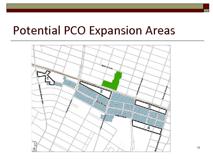 Potential PCO Expansion Areas 11