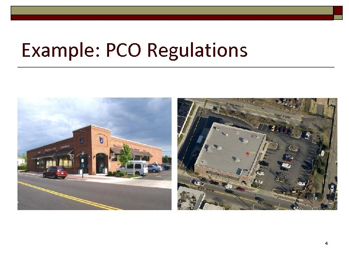 Example: PCO Regulations 4