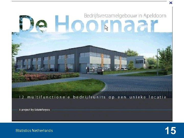 Statistics Netherlands 15