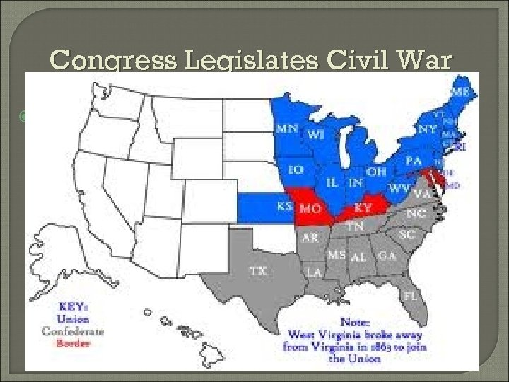 Congress Legislates Civil War THIS WILL IN EFFECT LEGISLATE A CIVIL WAR! • WE
