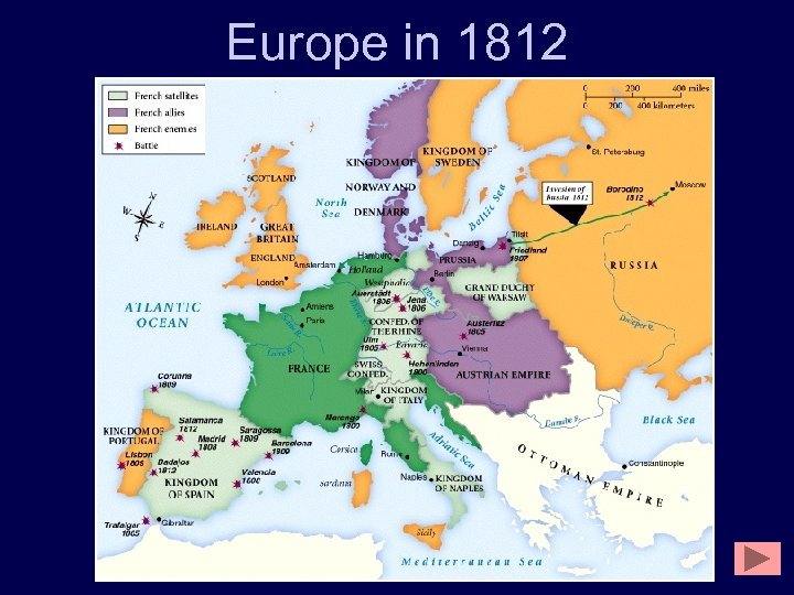 Europe in 1812