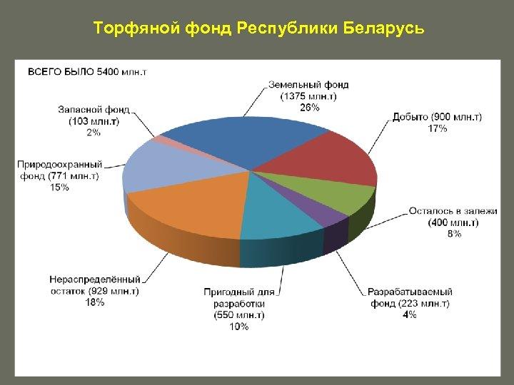 Торфяной фонд Республики Беларусь