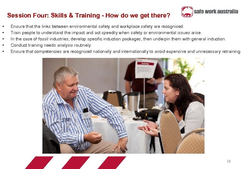 Session Four: Skills & Training - How do we get there? • • •