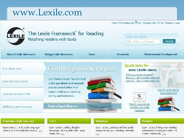 www. Lexile. com