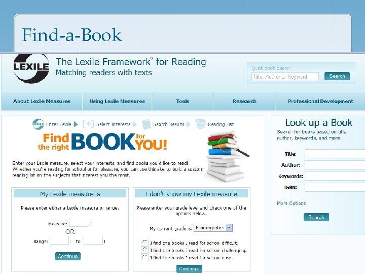 Find-a-Book