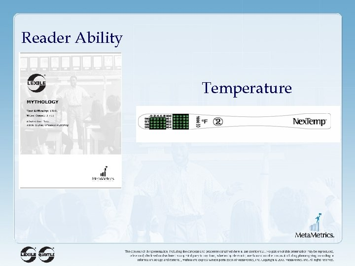 Reader Ability Temperature