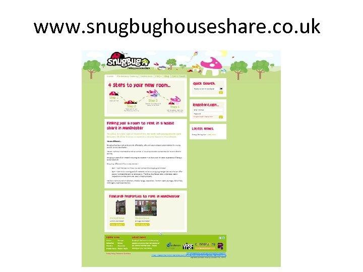 www. snugbughouseshare. co. uk