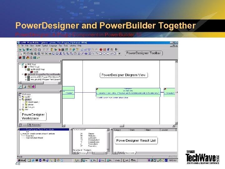 Power. Designer and Power. Builder Together Power. Designer: A Plugin Component in Power. Builder