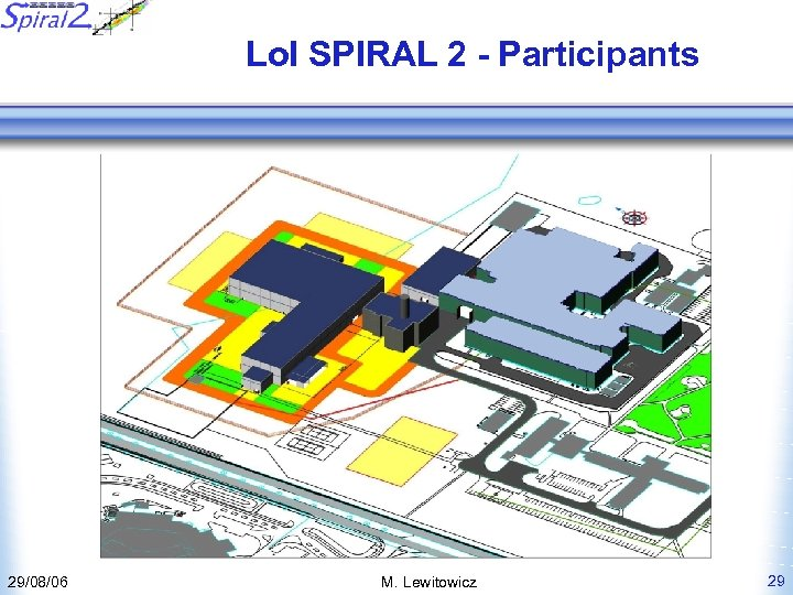 Lo. I SPIRAL 2 - Participants 29/08/06 M. Lewitowicz 29
