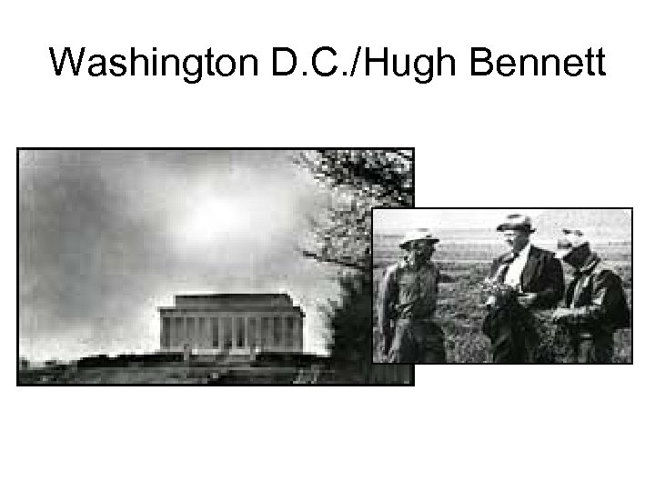Washington D. C. /Hugh Bennett