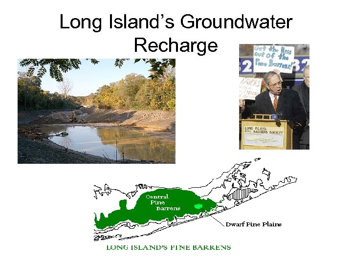 Long Island's Groundwater Recharge