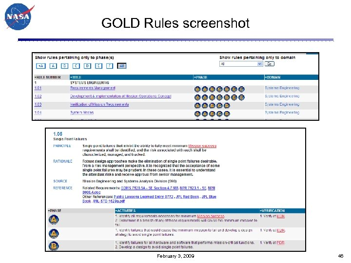 GOLD Rules screenshot February 3, 2009 46