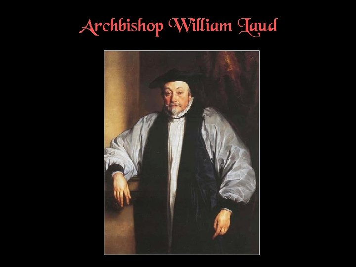 Archbishop William Laud