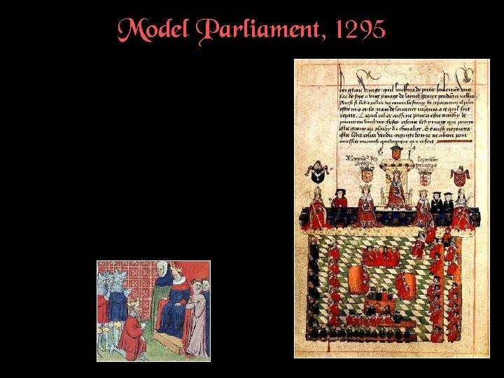 Model Parliament, 1295