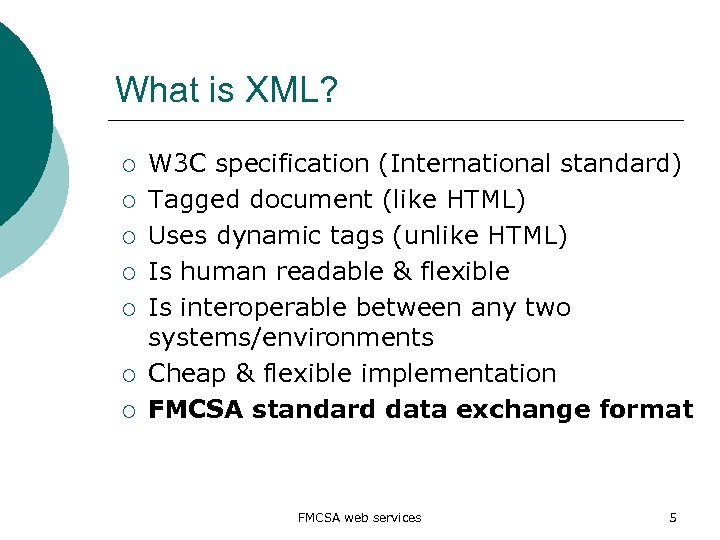 What is XML? ¡ ¡ ¡ ¡ W 3 C specification (International standard) Tagged