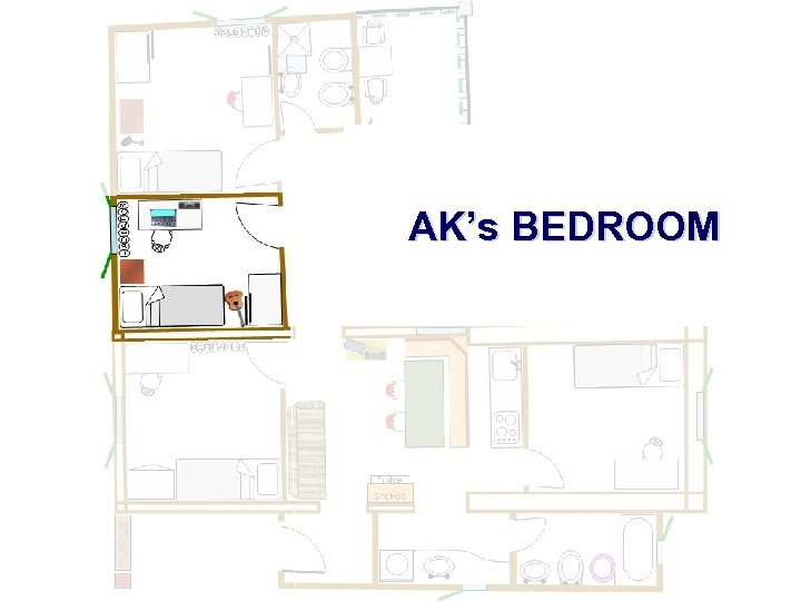 AK's BEDROOM