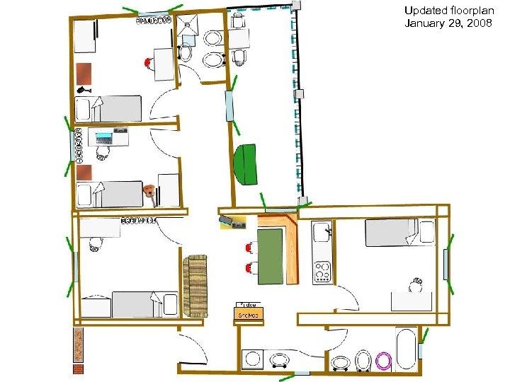 Updated floorplan January 29, 2008