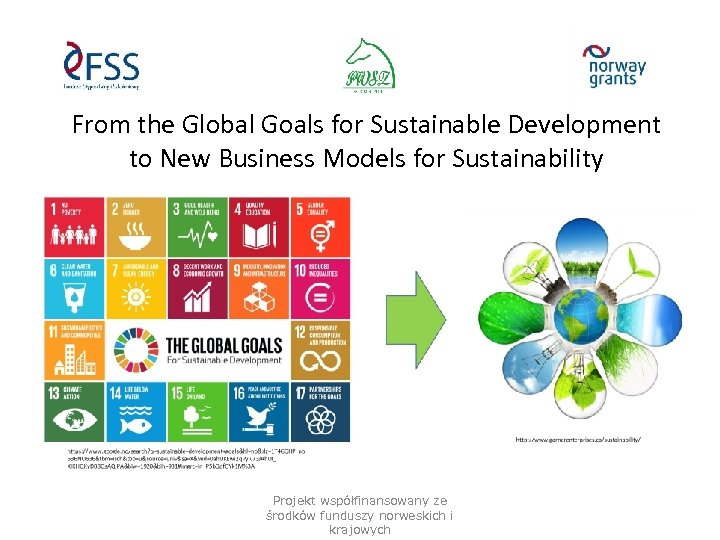 From the Global Goals for Sustainable Development to New Business Models for Sustainability Projekt