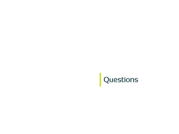 Questions October 2009