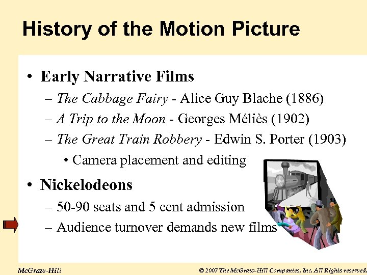 History of the Motion Picture • Early Narrative Films – The Cabbage Fairy -