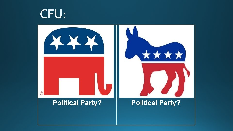 Political Party?