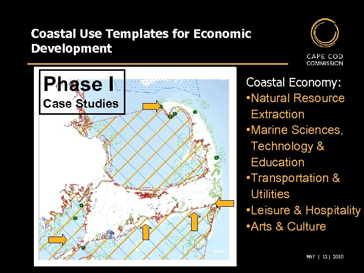 Coastal Use Templates for Economic Development Phase I Case Studies Coastal Economy: • Natural