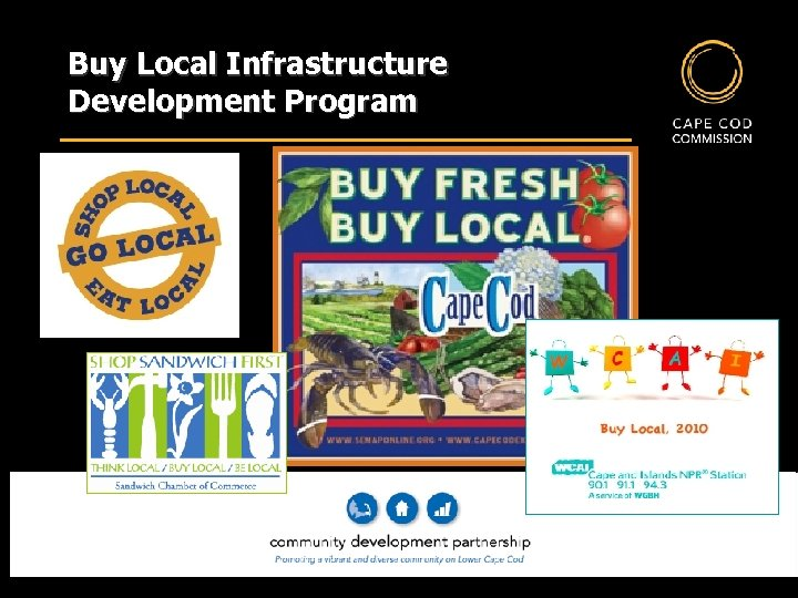 Buy Local Infrastructure Development Program MAY | 12 | 2010