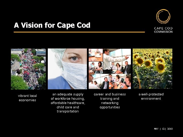 A Vision for Cape Cod vibrant local economies an adequate supply of workforce housing,