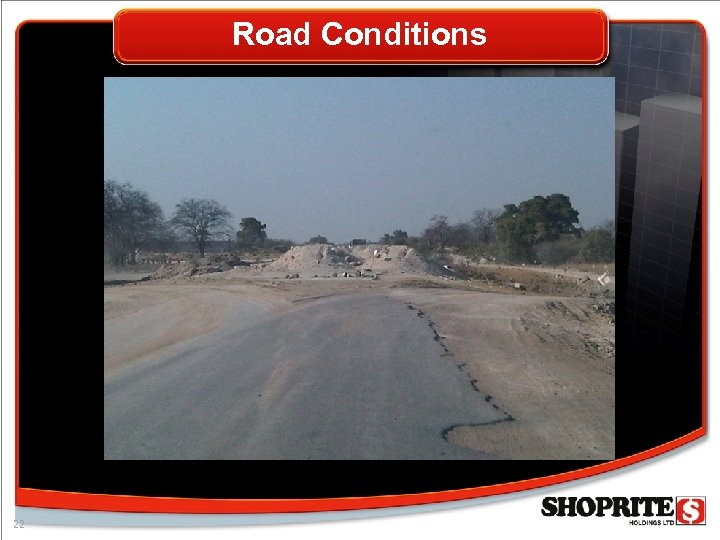 Road Conditions 22