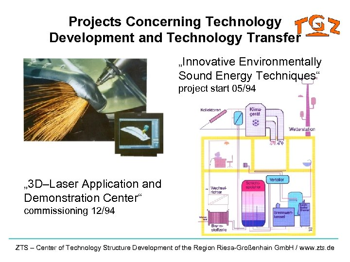 "Projects Concerning Technology Development and Technology Transfer ""Innovative Environmentally Sound Energy Techniques"" project start"
