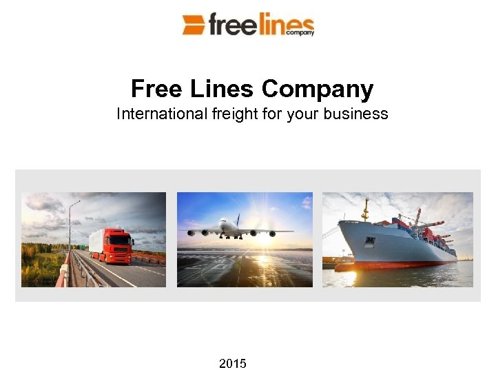 Free Lines Company International freight for your business 2015