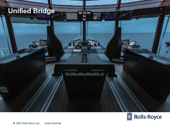Unified Bridge © 2015 Rolls-Royce plc Justin Norman 8