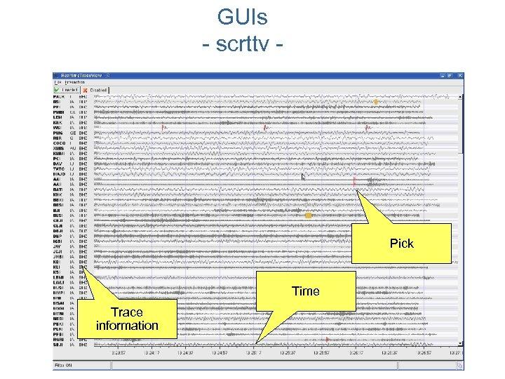 GUIs - scrttv - Pick Time Trace information