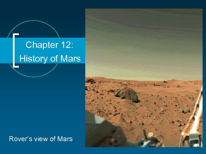 Chapter 12: History of Mars Rover's view of Mars