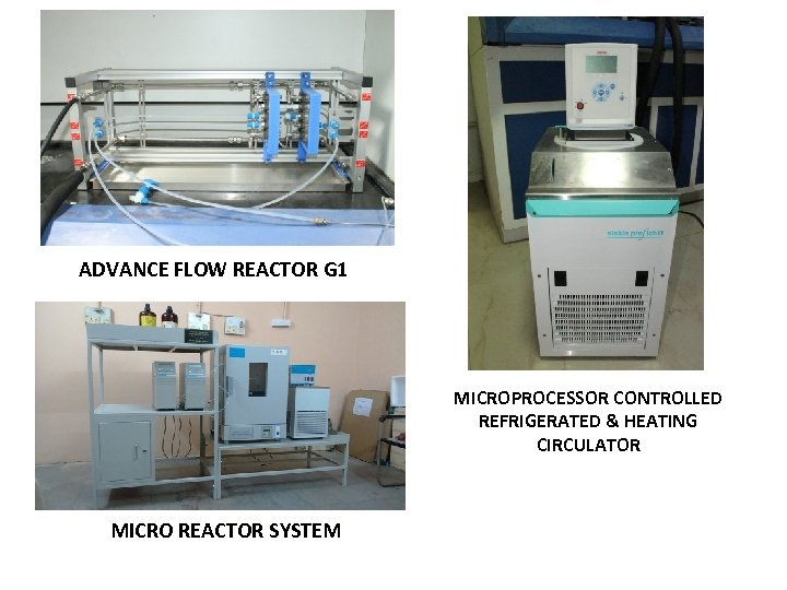ADVANCE FLOW REACTOR G 1 MICROPROCESSOR CONTROLLED REFRIGERATED & HEATING CIRCULATOR MICRO REACTOR SYSTEM