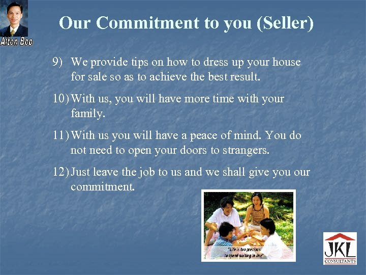 Our Commitment to you (Seller) 9) We provide tips on how to dress up