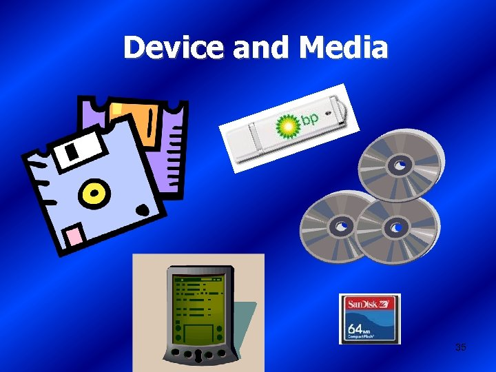 Device and Media 35