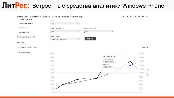 Встроенные средства аналитики Windows Phone