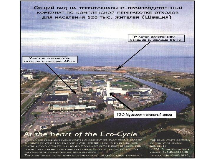 ТЭС- Мусоросжигательный завод