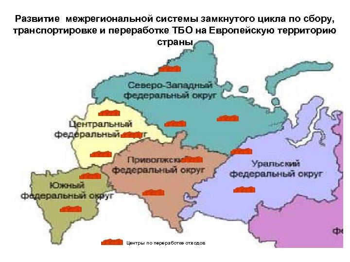 Развитие межрегиональной системы замкнутого цикла по сбору, транспортировке и переработке ТБО на Европейскую территорию