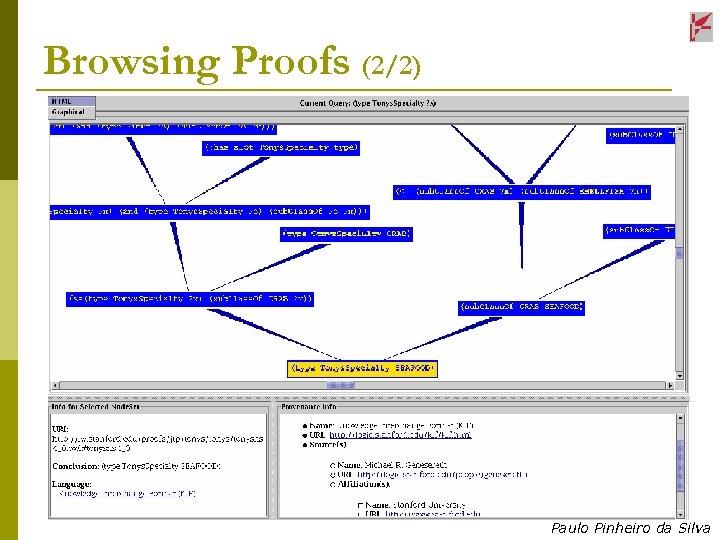Browsing Proofs (2/2) Paulo Pinheiro da Silva