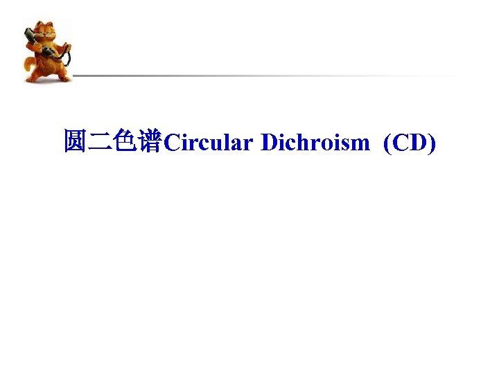 圆二色谱Circular Dichroism (CD)