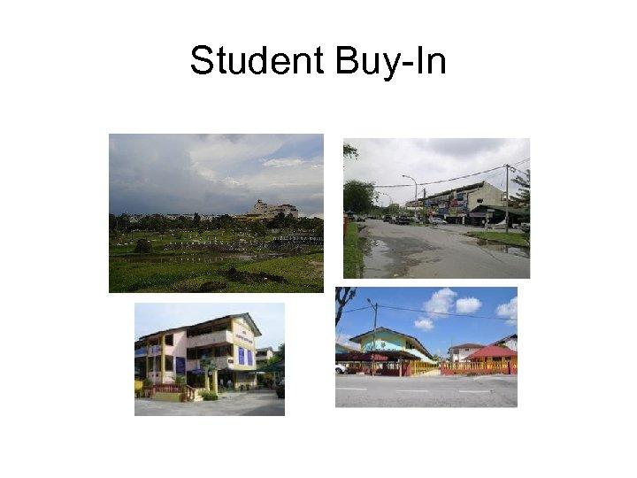 Student Buy-In