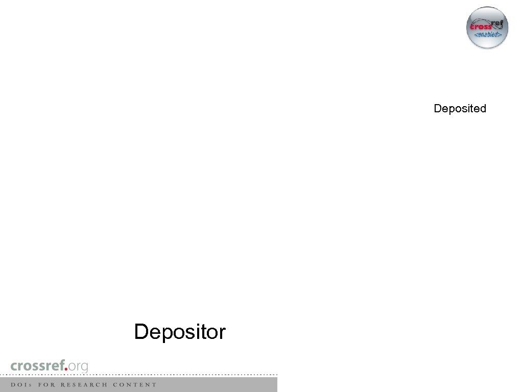 Deposited Depositor