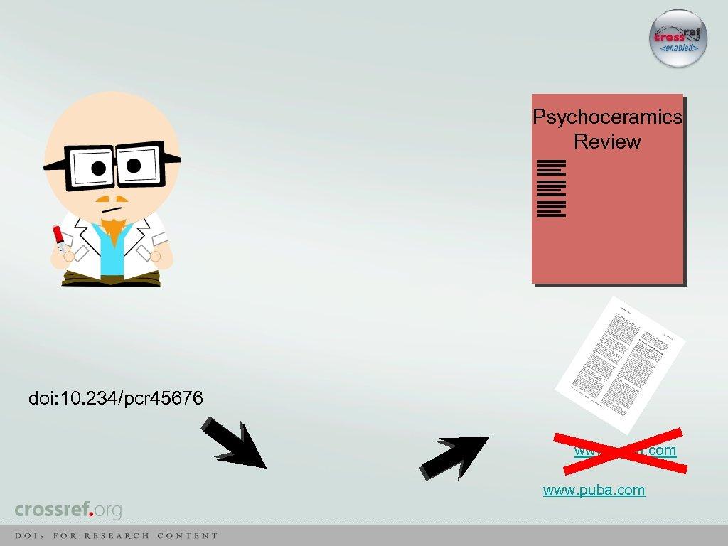 Psychoceramics Review doi: 10. 234/pcr 45676 www. puba. com